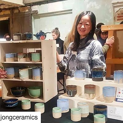 Jong Ceramics Display Stands