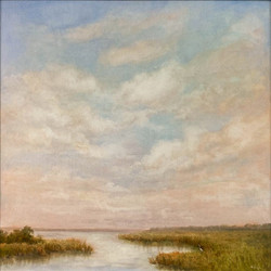 Warm Marsh Sky