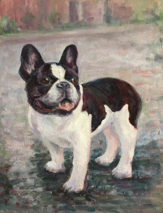 Portrait of Frankie
