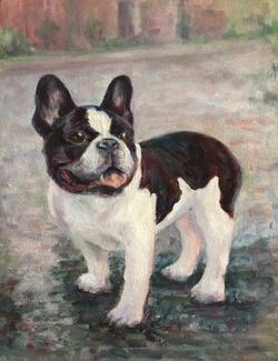 Portrait of Frankie