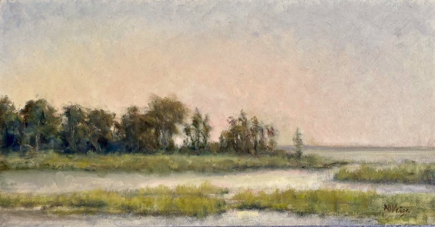Warm Skies on the Marsh
