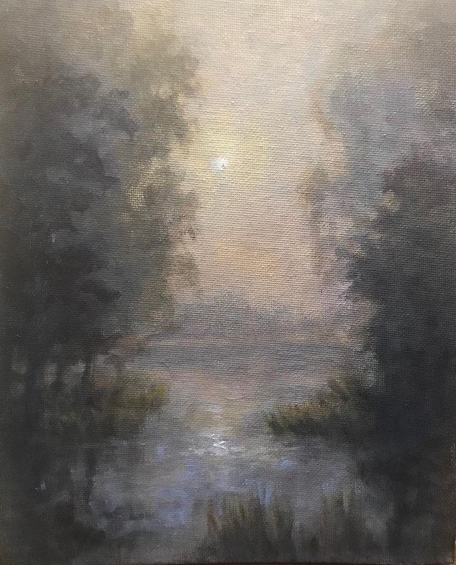 Moonlit Marsh