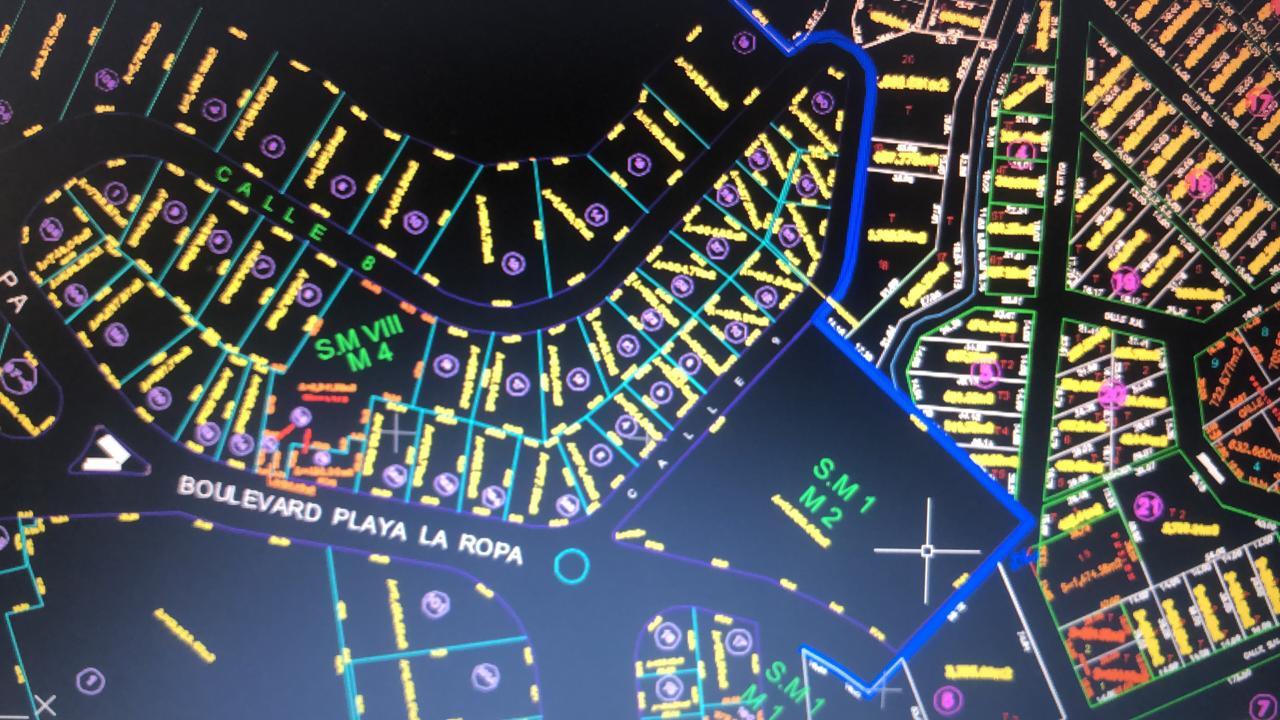 Adquiere éstos Excelente Terrenos de 550 MT2, ubicado a un costado de la CARRETERA ESCÉNICA PLAYA LA ROPA, Zihuatanejo, Guerrero, México: PROYECTO DE URBANIZACIÓN EN AVANCE!!!  Lote 21 MZ 4 SUP MZ VIII Colonia La Ropa MEDIDAS: 13.57 X 29.98 X 28.05 X 34.44 (646.11 M2)  Lote 23 MZ 4 SUP MZ VIII Colonia La Ropa MEDIDAS: 13.57 X 30.32 X 11.02 X 9.00 X 29.98 X 7.59 X 9.52 (559.06 M2)  CON TITULO DE PROPIEDAD, PAGOS DE CATASTRO ACTUALIZADOS. ____________________  Acquire this excellent land lot of 658 M2, located next to the PLAYA LA ROPA SCENIC ROAD, Zihuatanejo, Guerrero, Mexico: SPECTACULAR URBANIZATION PROJECT IN PROGRESS !!!  MEASUREMENTS:  Lot 21 MZ 4 SUP MZ VIII Colonia La Ropa MEASUREMENTS: 13.57 X 29.98 X 28.05 X 34.44 (646.11 M2)  Lot 23 MZ 4 SUP MZ VIII Colonia La Ropa MEASUREMENTS: 13.57 X 30.32 X 11.02 X 9.00 X 29.98 X 7.59 X 9.52 (559.06 M2)  WITH TITLE OF PROPERTY, UPDATED RIGHTS PAYMENTS.