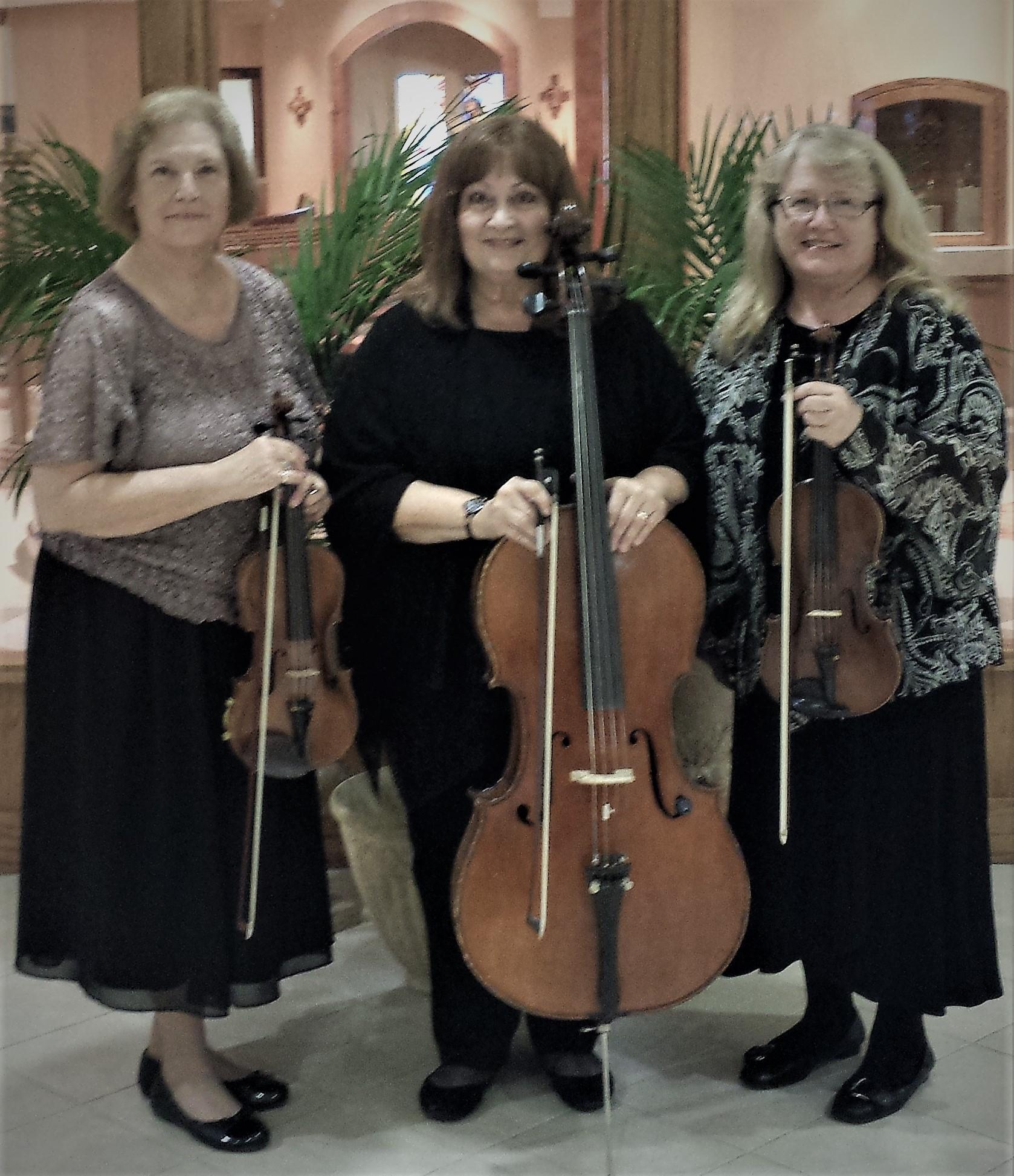Trio at St. Paul the Apostle