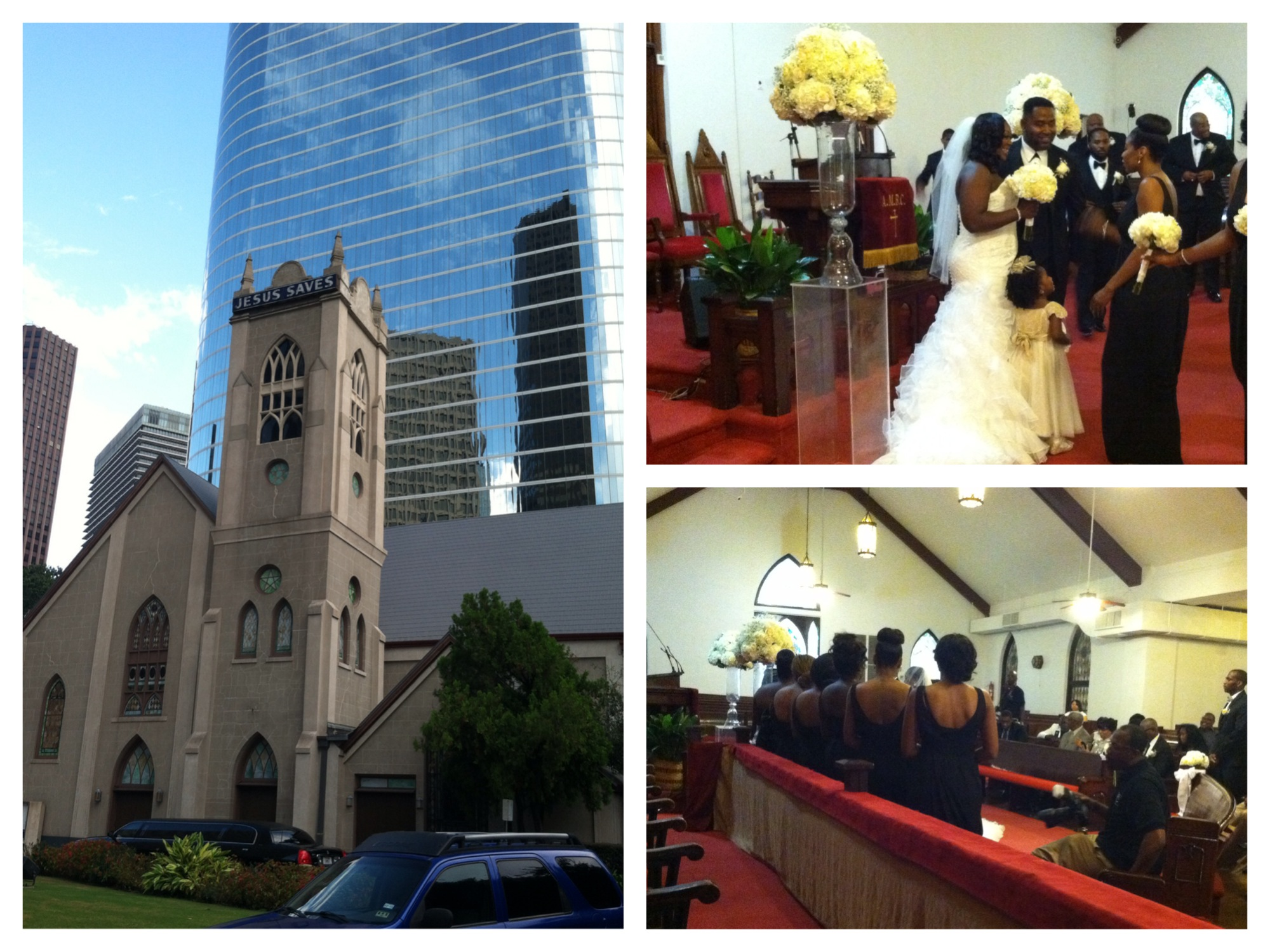Wedding at Antioch Baptist Houston
