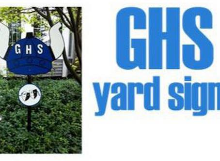 Geneva Viking Yard Signs!