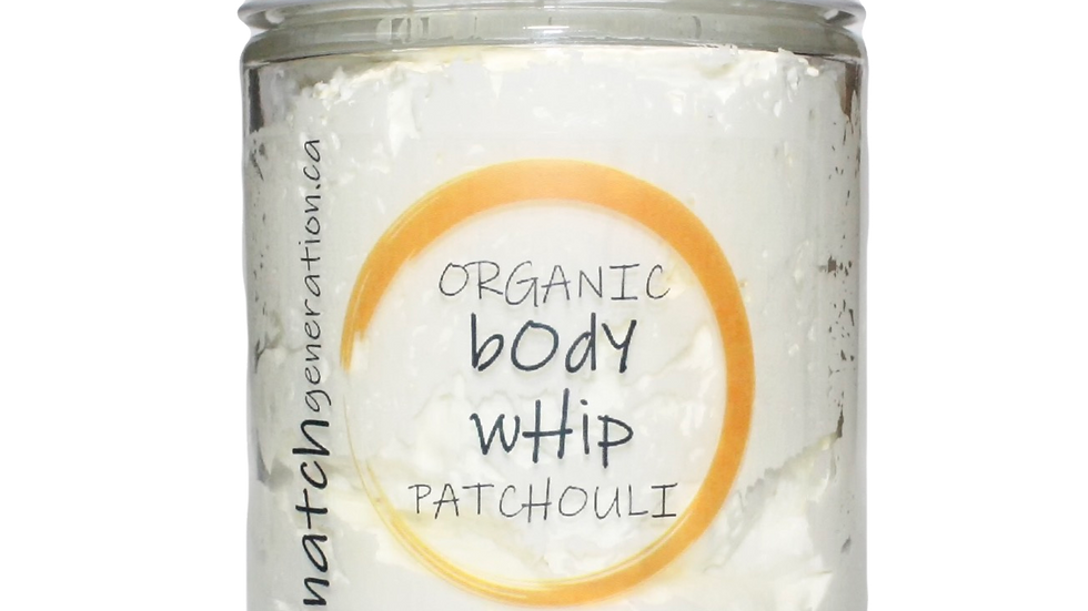 body whip - patchouli 8oz