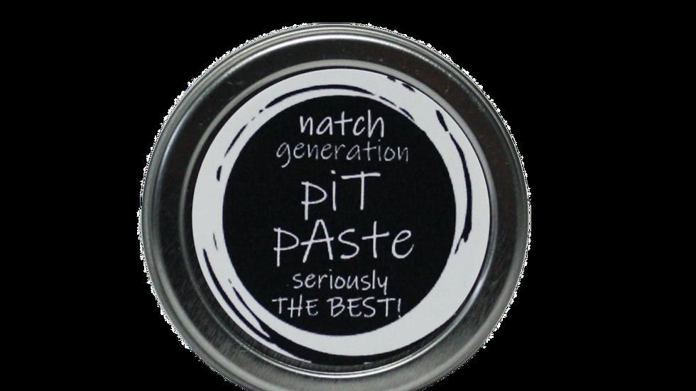 pit paste - natural deodorant