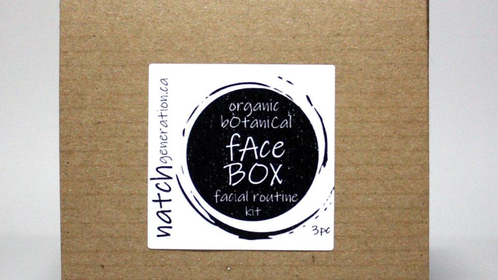 face box - facial routine kit