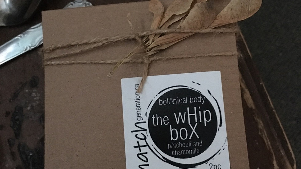 the whip box • 2pc mini butters