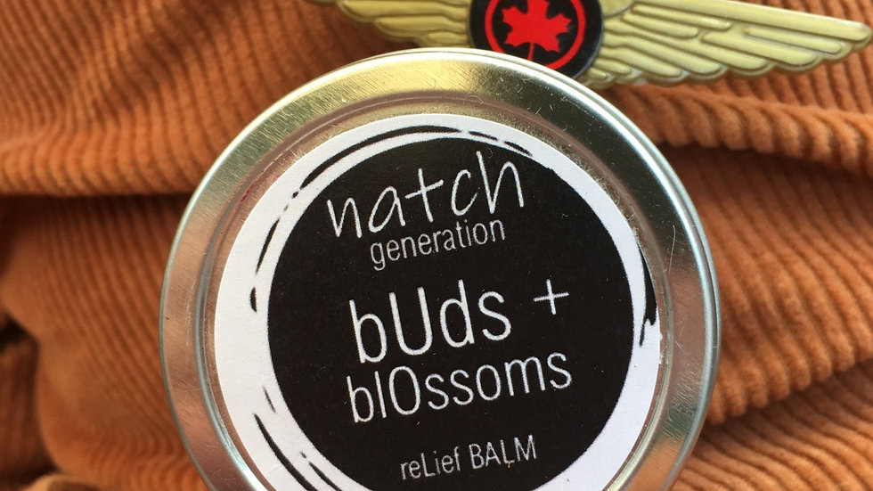 buds + blossoms relief balm 4oz