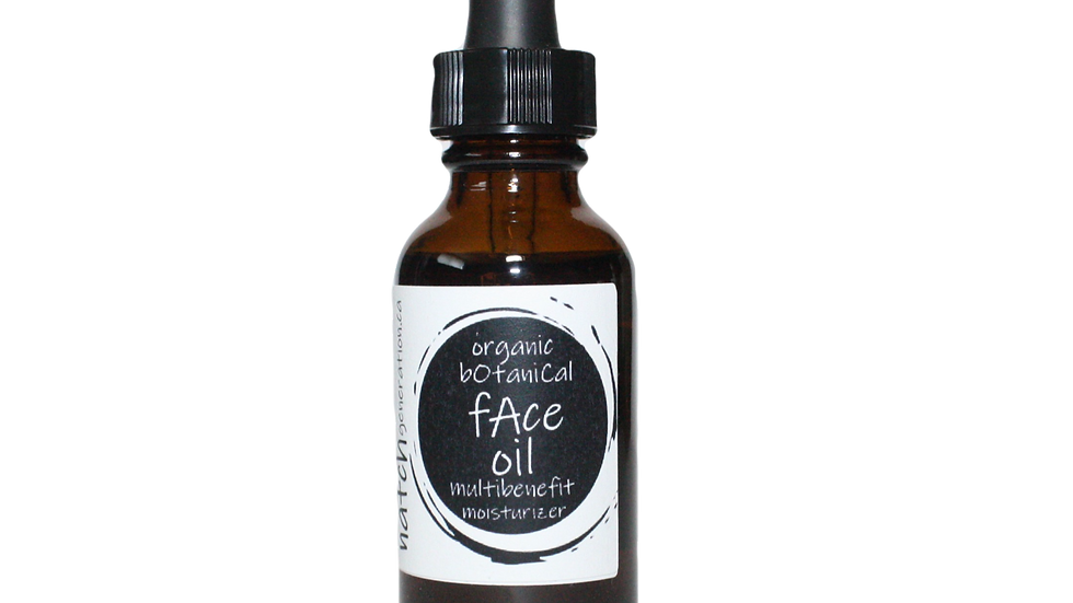 face oil multi-benefit moisturizer 1oz