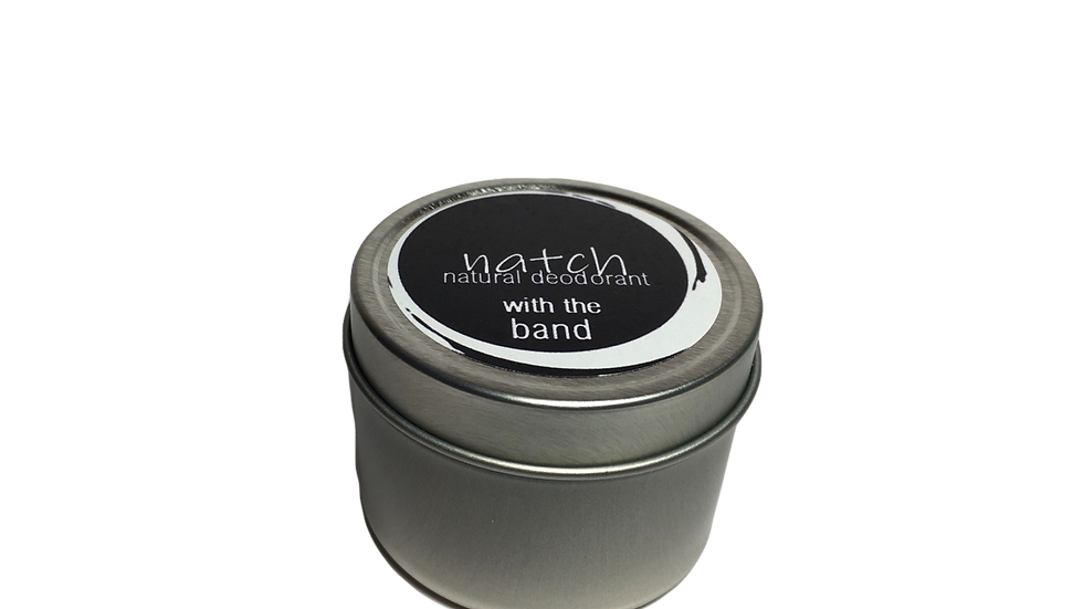 with the band 2 oz - natural deodorant paste
