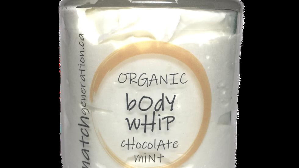 body whip -  chocolate mint 8oz