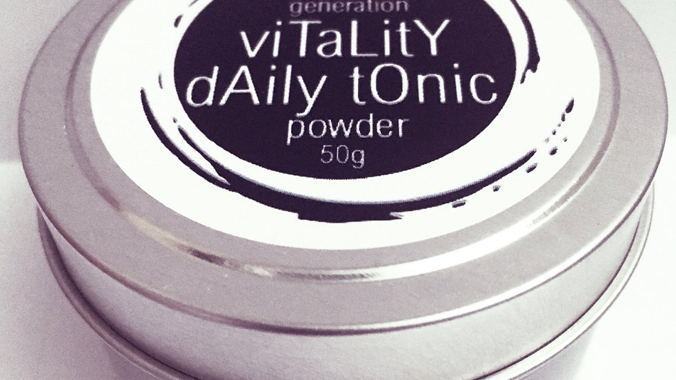 vitality daily tonic powder 50g