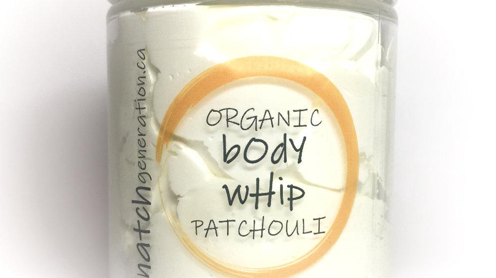 body whip - patchouli 8oz