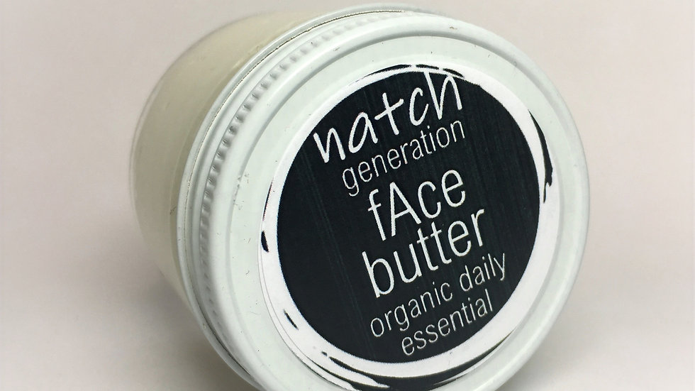 face butter - mega botanical creme 2oz