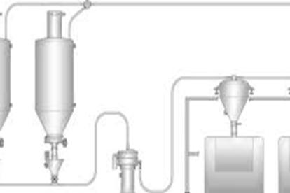 Complete flour/oil transfers