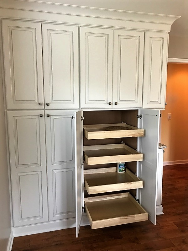 Pantry with Roll Outs