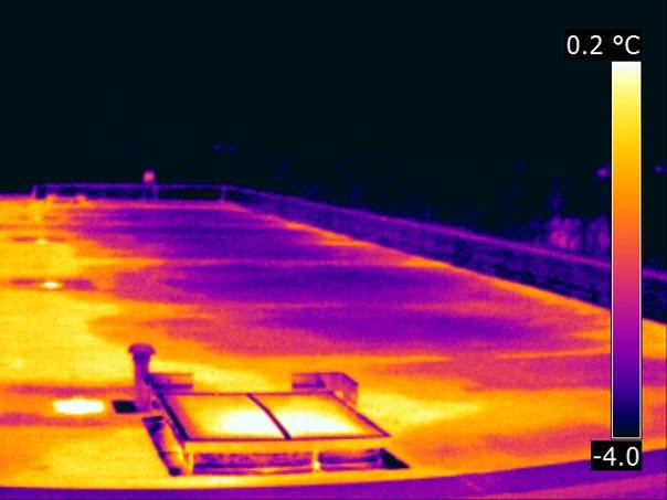 Humidité toiture