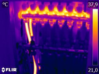 Thermographie embouage réseau