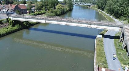 Inspection pont par drone
