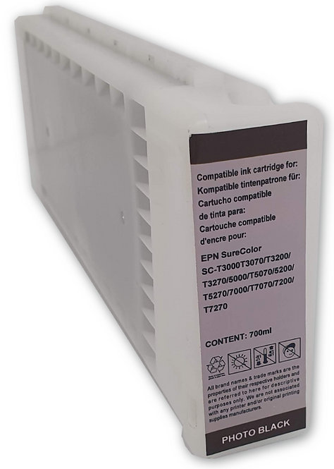 SureColor-T series Photo Jet Black 700ml Dye Ink Cartridge