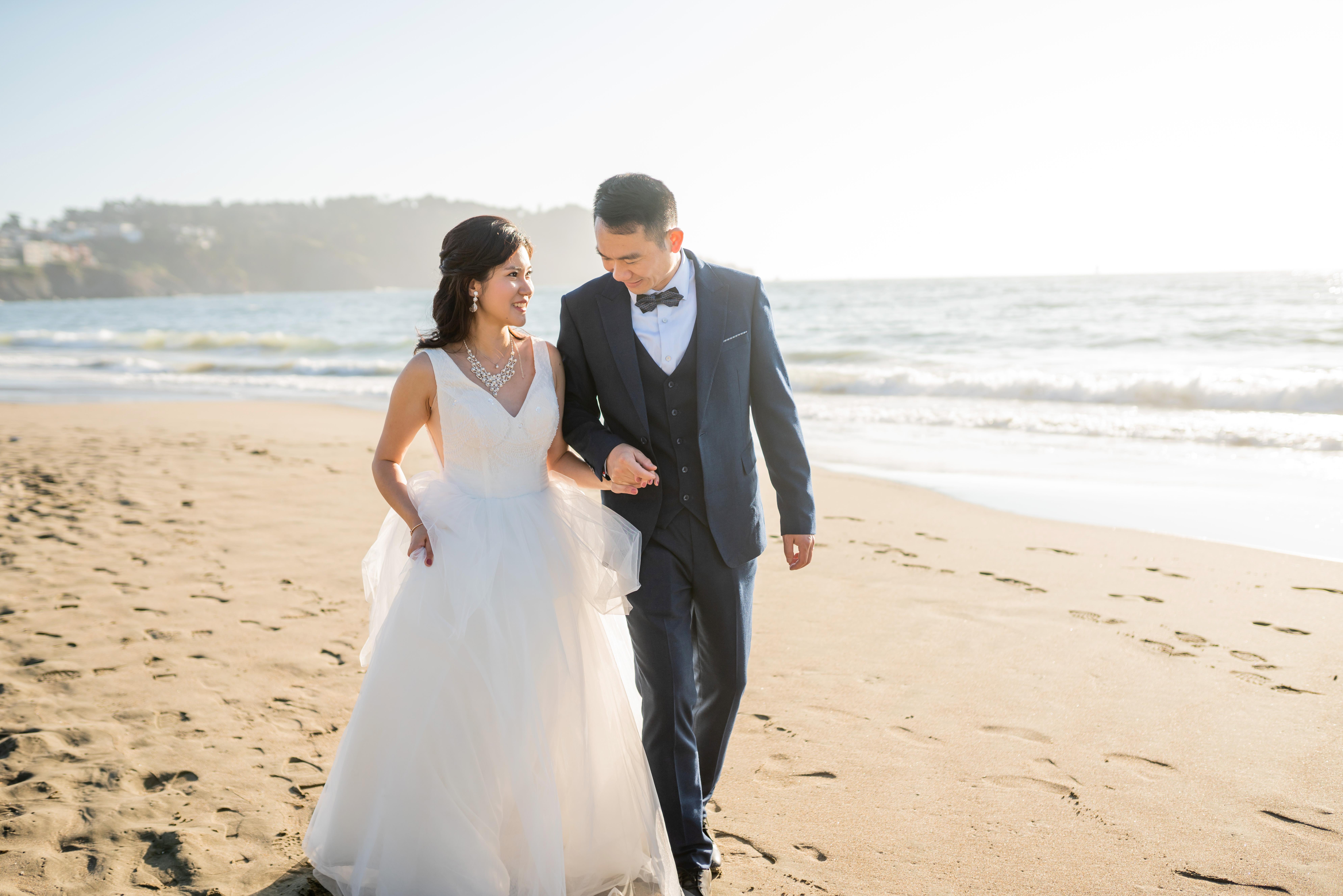 Baker Beach Wedding Photography