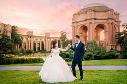 Palace of Fine Art Wedding