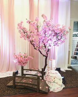 Custom Cherry Blossom Tree