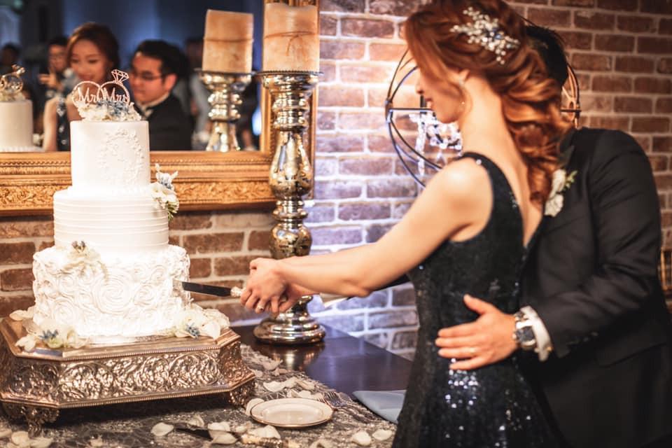Wedding Cake Table Sunol's Casa Bella