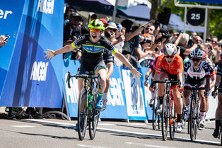Kendall Ryan Wins Stage 1 of the Amgen Tour of California