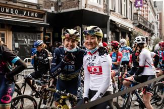 Team TIBCO-Silicon Valley Bank conquers the Mur de Huyat La Flèche Wallonne Feminine