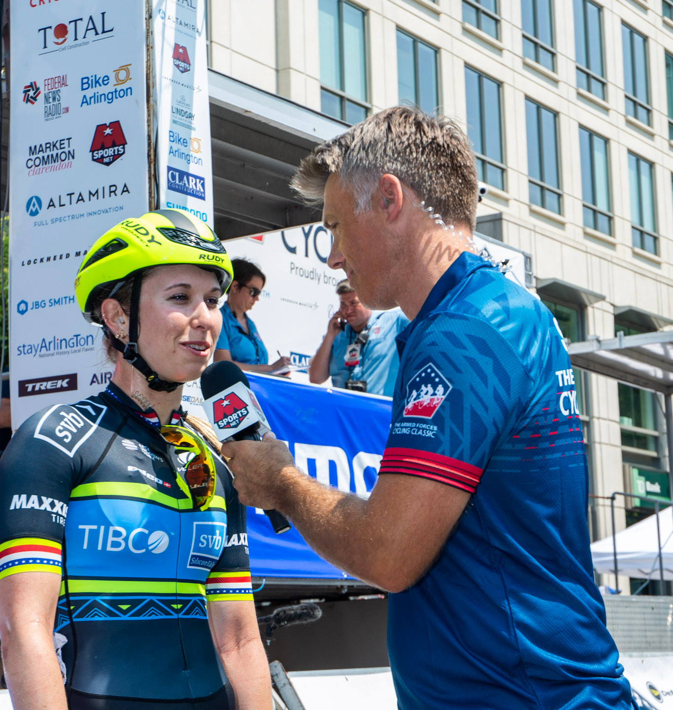 Post Race Interview at Clarendon Cup