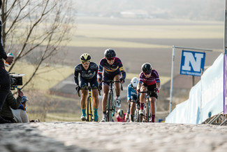 Faulkner mixes it up with the best at Tour of Flanders