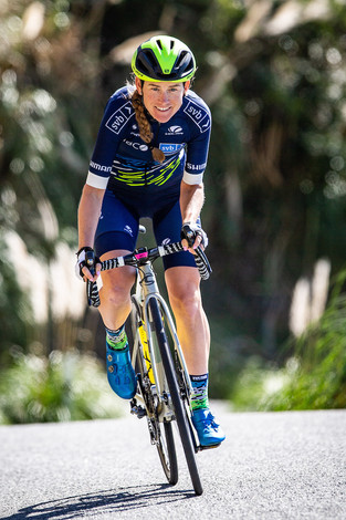 Stephens leads virtual Tour de France