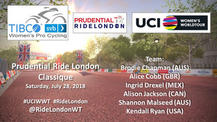 Race Preview: UCI Women's WorldTour - Prudential RideLondon