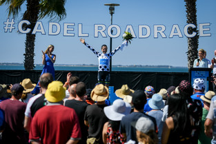Brodie Chapman Scores the QOM Jersey at the Cadel Evans Great Ocean Road Race