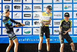 Team TIBCO - Silicon Valley Bank's Brodie Chapman Climbs to a Podium Finish at the Herald Sun Tour i