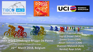 Team TIBCO - Silicon Valley Roster for Driedaagse Brugge-De Panne-Koksijde