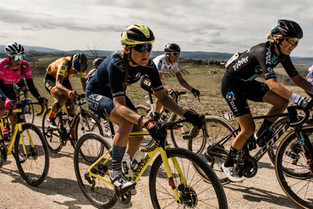 Team TIBCO-Silicon Valley Bank come together for a gritty, unforgettable Strade Bianche