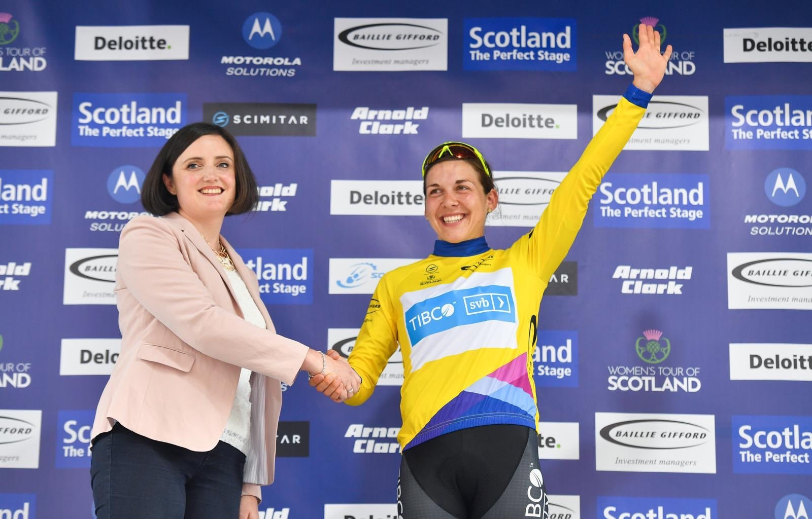 Alison Jackson at Tour of Scotland