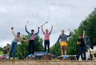 Langley wins Rooted Vermont Gravel Race