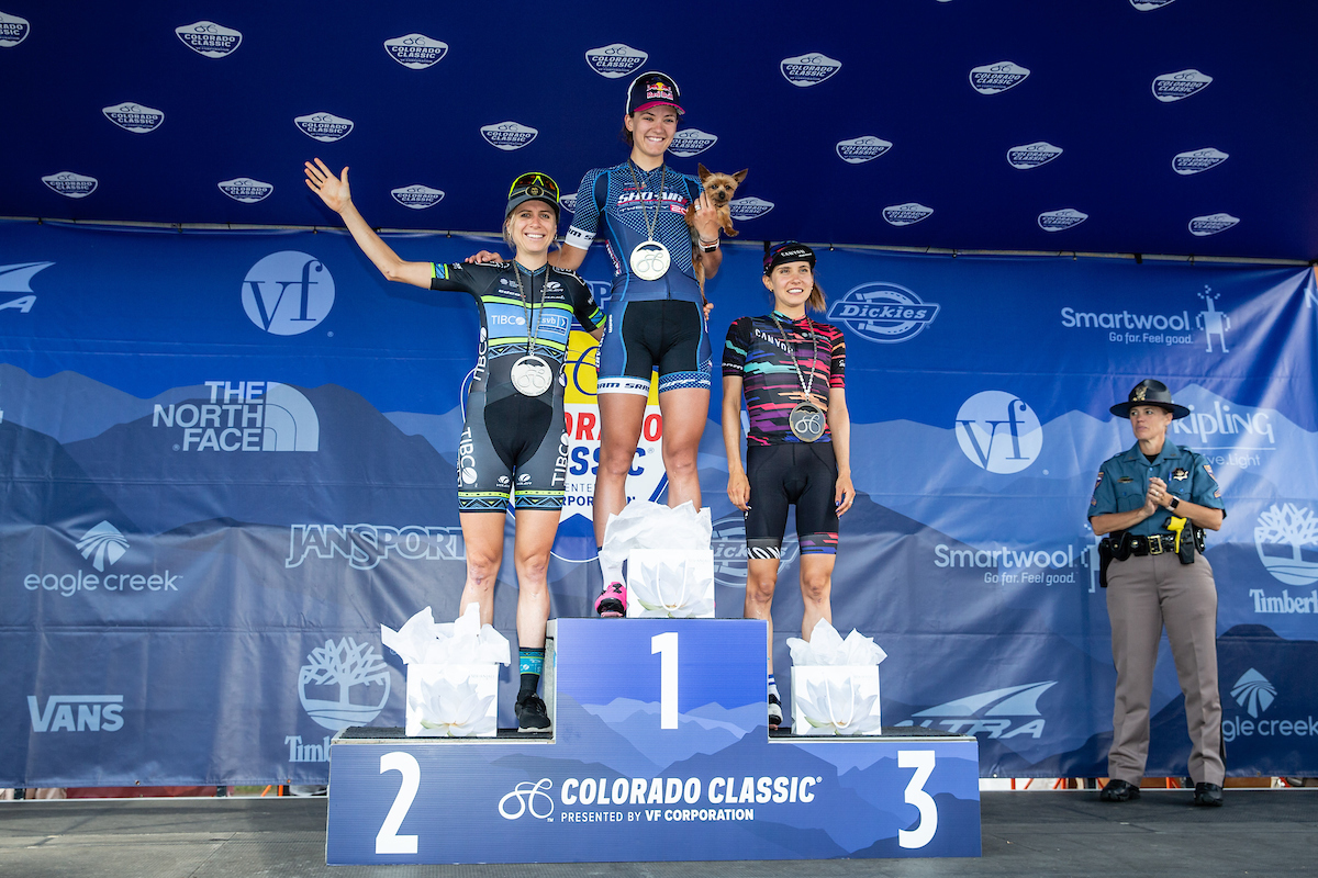 Brodie Chapman Scores 2nd on Stage 2
