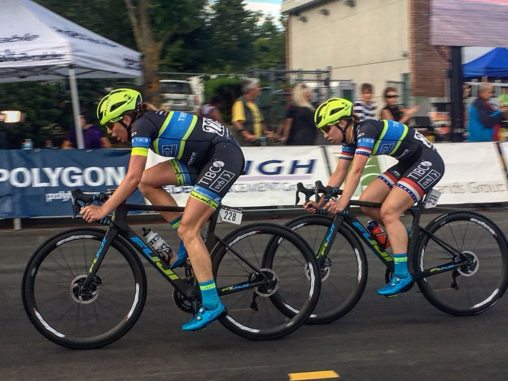 Leadout for Kendall's victory