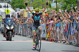 Team TIBCO – Silicon Valley Bank Captain, Lauren Stephens, wins Winston Salem GP!