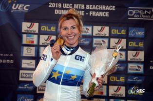 Nina Kessler Wins the Beachrace European Championship