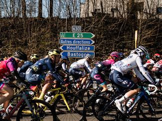 "Team TIBCO-Silicon Valley Bank display ""awesome teamwork"" atLiège-Bastogne-Liège"