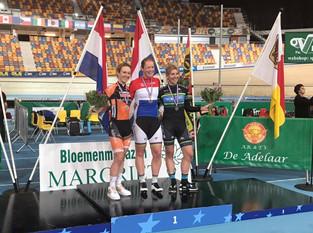 Nina Kessler Scores Podium at the Dutch Track Cycling National Championships