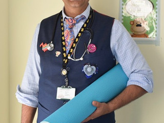 A Day Off ...in the life of Paediatrician Dr Kamal Patel
